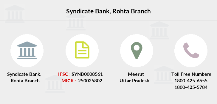 Syndicate-bank Rohta branch