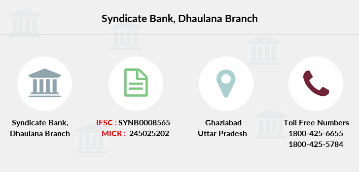 Syndicate-bank Dhaulana branch