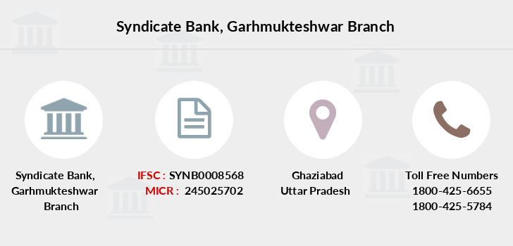 Syndicate-bank Garhmukteshwar branch