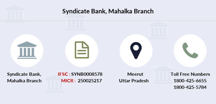 Syndicate-bank Mahalka branch
