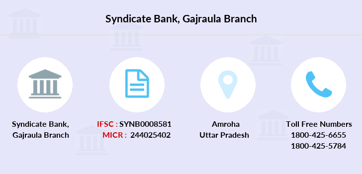 Syndicate-bank Gajraula branch
