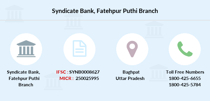 Syndicate-bank Fatehpur-puthi branch