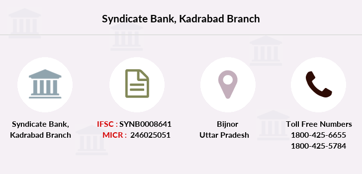 Syndicate-bank Kadrabad branch