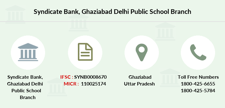 Syndicate-bank Ghaziabad-delhi-public-school branch