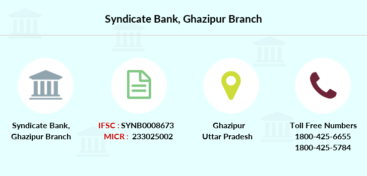 Syndicate-bank Ghazipur branch