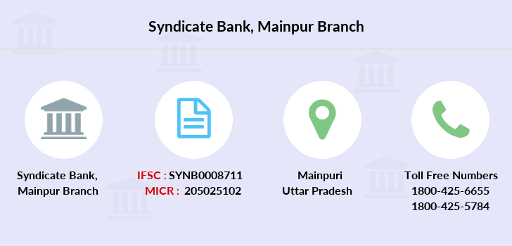Syndicate-bank Mainpur branch