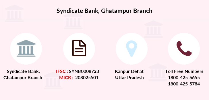 Syndicate-bank Ghatampur branch