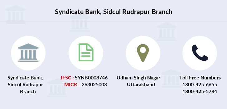 Syndicate-bank Sidcul-rudrapur branch
