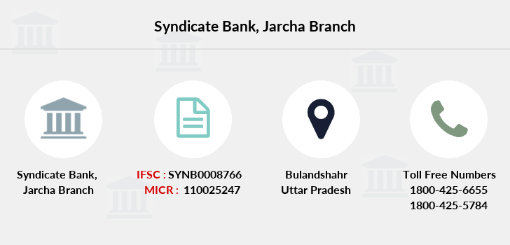 Syndicate-bank Jarcha branch