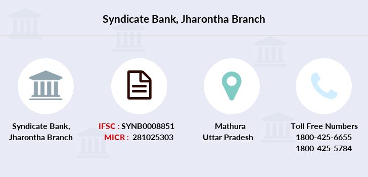 Syndicate-bank Jharontha branch