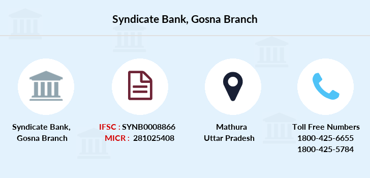 Syndicate-bank Gosna branch