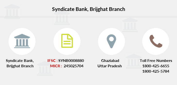 Syndicate-bank Brijghat branch