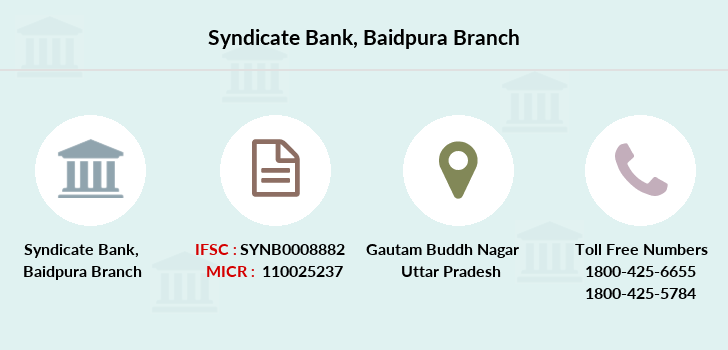 Syndicate-bank Baidpura branch