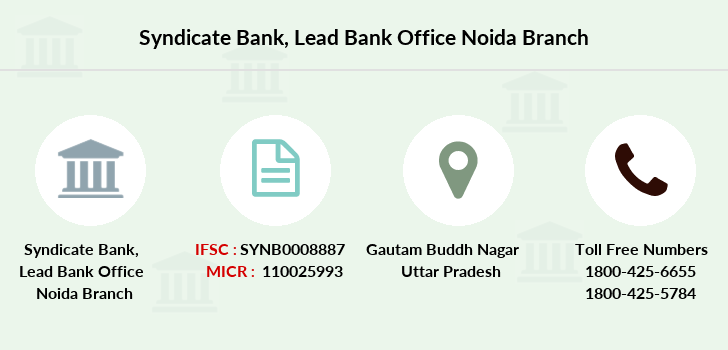 Syndicate-bank Lead-bank-office-noida branch