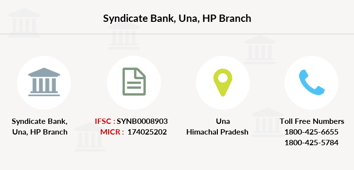 Syndicate-bank Una-hp branch