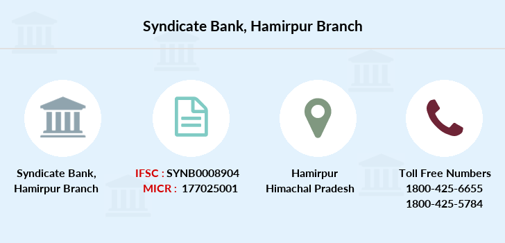 Syndicate-bank Hamirpur branch