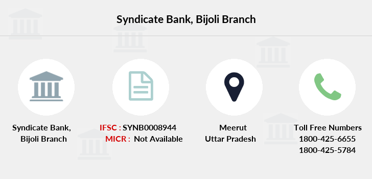 Syndicate-bank Bijoli branch