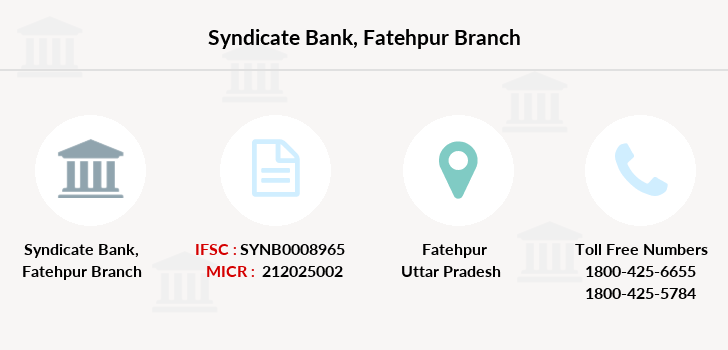 Syndicate-bank Fatehpur branch