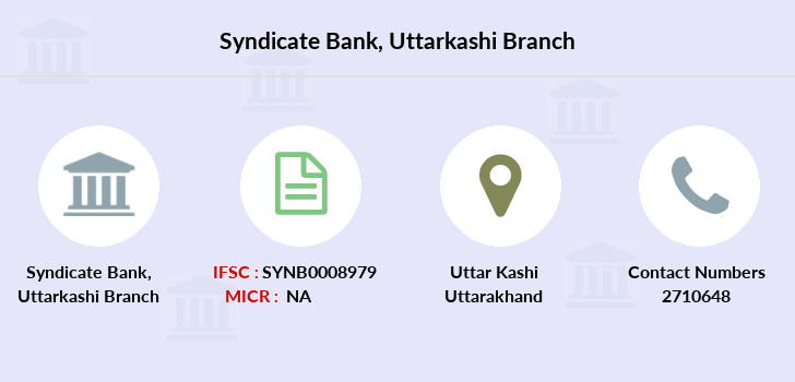 Syndicate-bank Uttarkashi branch