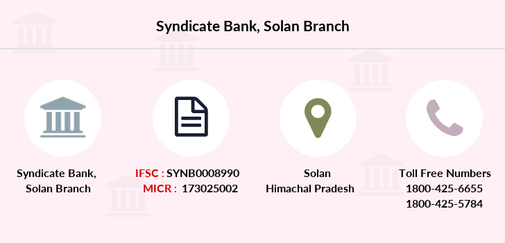 Syndicate-bank Solan branch