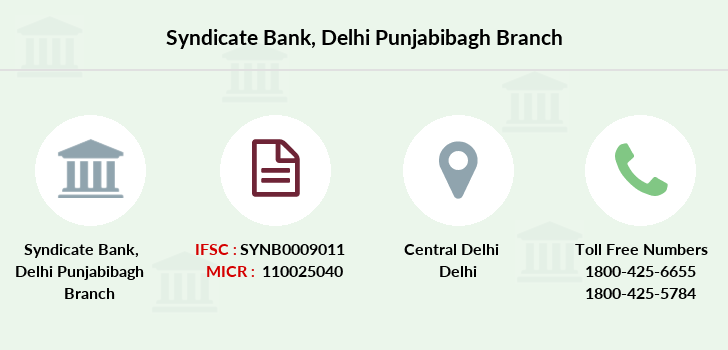 Syndicate-bank Delhi-punjabibagh branch