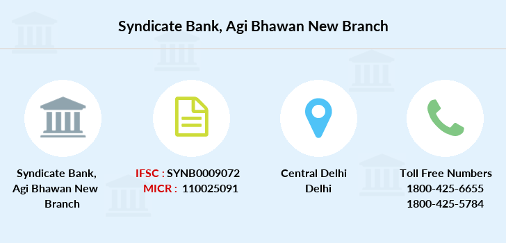Syndicate-bank Agi-bhawan-new branch