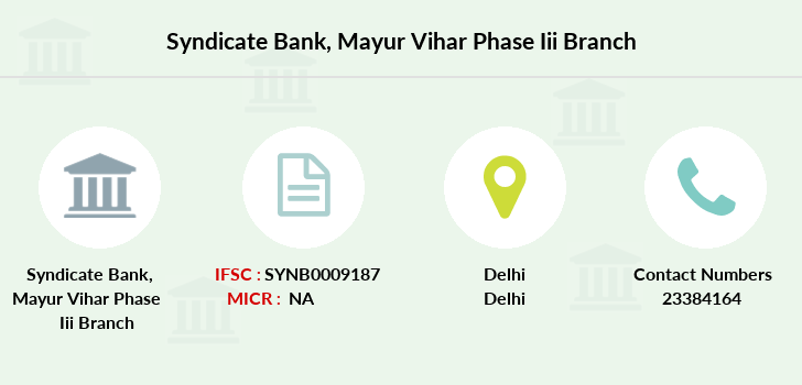 Syndicate-bank Mayur-vihar-phase-iii branch
