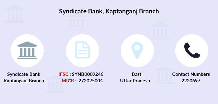 Syndicate-bank Kaptanganj branch
