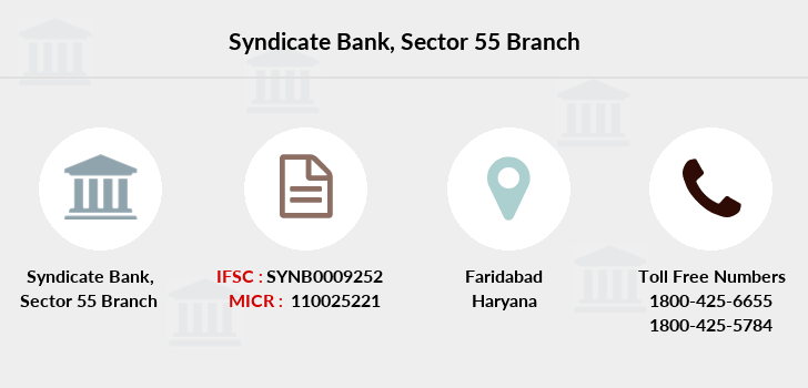 Syndicate-bank Sector-55 branch
