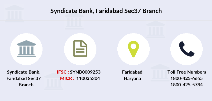 Syndicate-bank Faridabad-sec37 branch