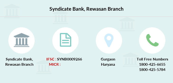 Syndicate-bank Rewasan branch