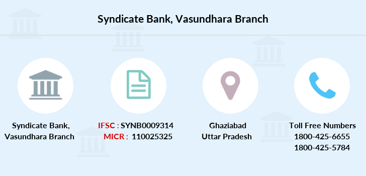 Syndicate-bank Vasundhara branch