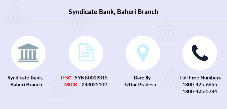 Syndicate-bank Baheri branch