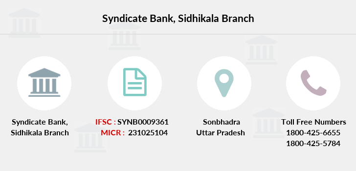 Syndicate-bank Sidhikala branch