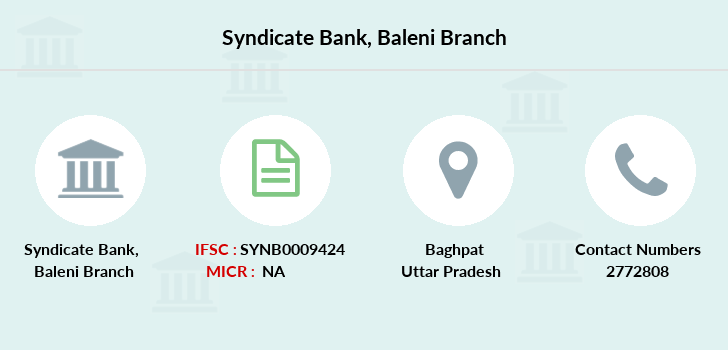Syndicate-bank Baleni branch