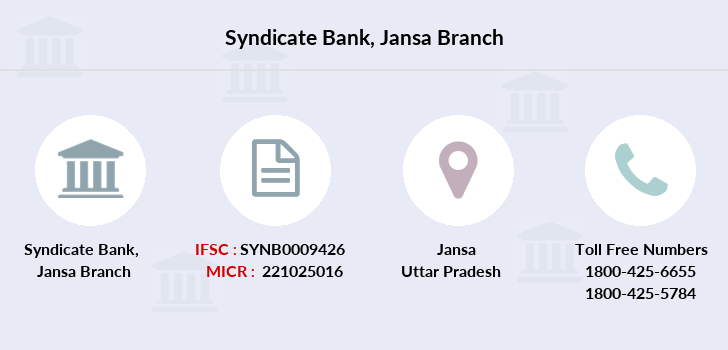 Syndicate-bank Jansa branch