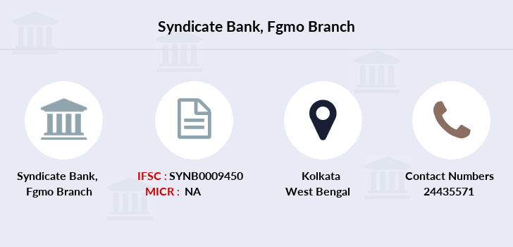 Syndicate-bank Fgmo branch
