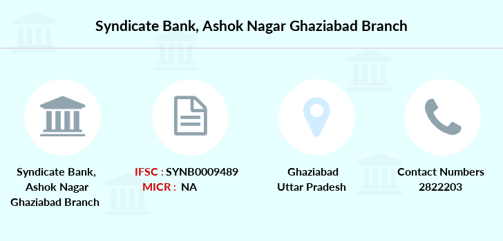 Syndicate-bank Ashok-nagar-ghaziabad branch
