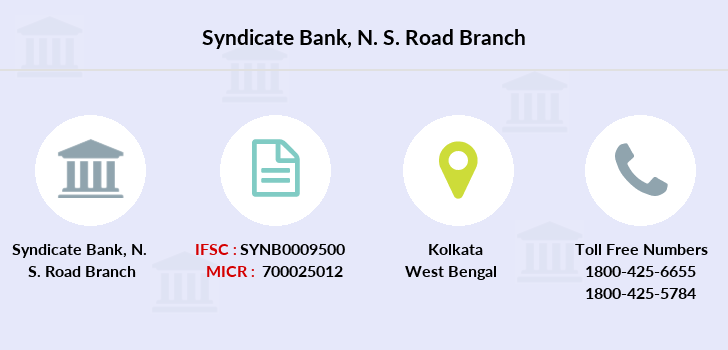 Syndicate-bank N-s-road branch