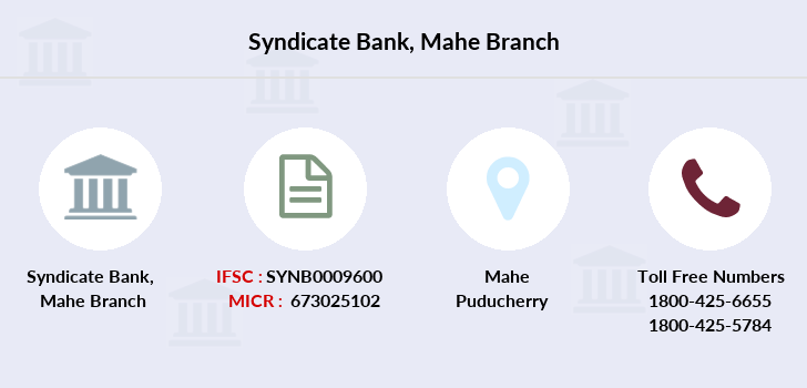 Syndicate-bank Mahe branch