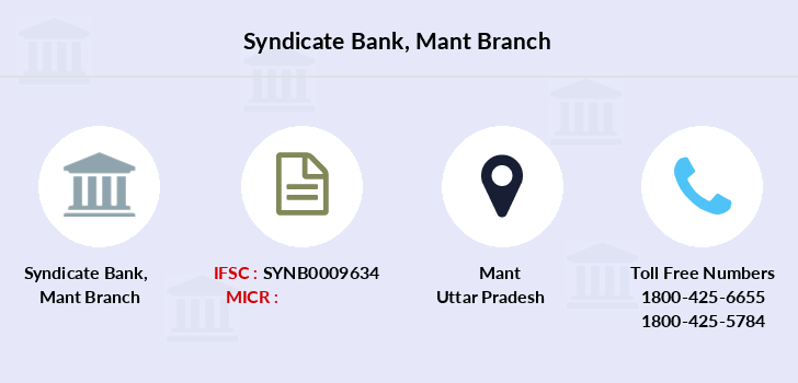 Syndicate-bank Mant branch