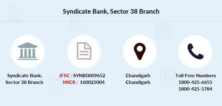 Syndicate-bank Sector-38 branch