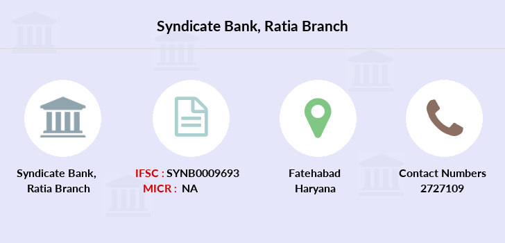 Syndicate-bank Ratia branch