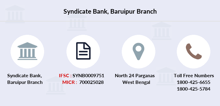 Syndicate-bank Baruipur branch