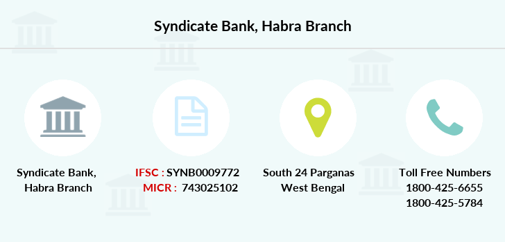 Syndicate-bank Habra branch