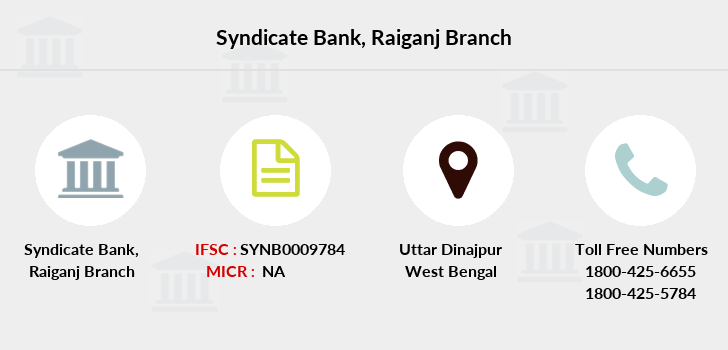Syndicate-bank Raiganj branch
