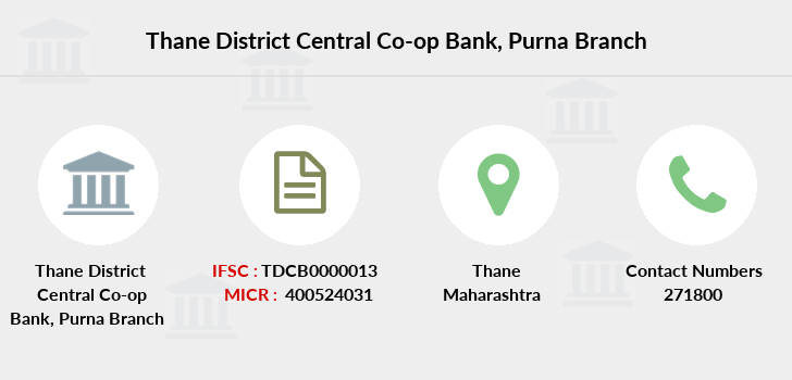Thane-district-central-co-op-bank Purna branch