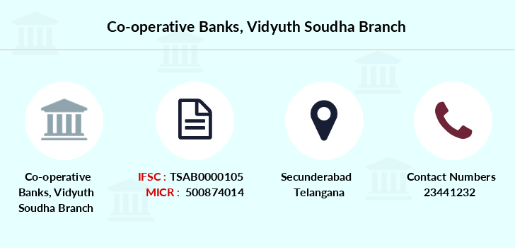 Co-operative-banks Vidyuth-soudha branch