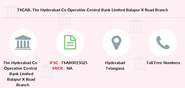 Co-operative-banks The-hyderabad-co-operative-central-bank-limited-balapur-x-road branch