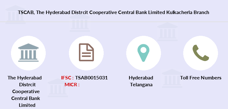 Telangana-state-coop-apex-bank The-hyderabad-distrcit-cooperative-central-bank-limited-kulkacherla branch